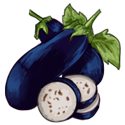Deep Blue Eggplant