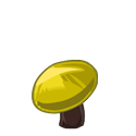 Dark Stem Yellow Shroom