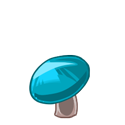 Light Blue Mushroom