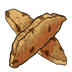 Chocolate Chipped Biscotti