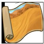 Endless Desert Sea Painting