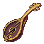 Wooden Lute