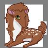 A Deer Preat Plush - Female  Aspen's favorite toy