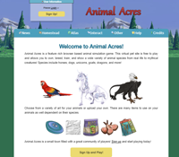 Animal acres website image