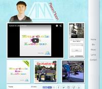 Aaron Moon Music website image